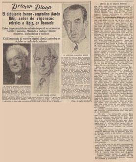 Ideal  de Grenade, Espagne 26 mai 1961