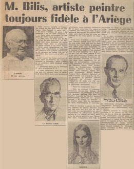La Dépèche 12 deptembre 1969