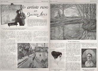 Buenos Aires Social, Argentine  22 juin 1918