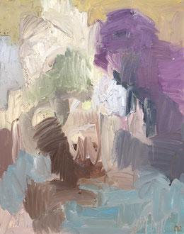 """""""La bibliothèque """" - 92 x 73 cm"""