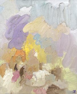 """"""" Fin février"""" - 65 x 54 cm"""