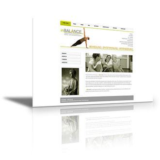 Auftraggeber: Yogatrainerin: Unsere Leistungen: Visitenkarten, Flyer, Logoentwurf, Webdesign, Layout, Texte, Bilder, Rechtsprüfung, Webbetreuung