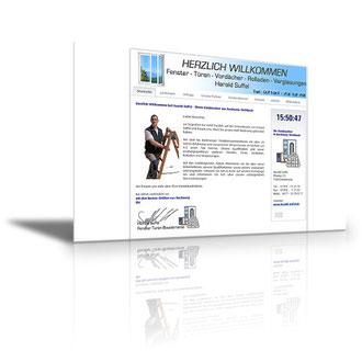 Auftraggeber: Handwerker. Unsere Leistungen: Webdesign, Layout, Texte Bilder, Rechtsprüfung, Webbetreuung