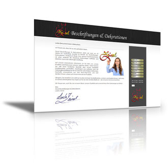 Auftraggeber: Werbeagentur. Unsere Leistungen: Imagefilm, Webdesign, Layout, Texte, Bilder, Rechtsprüfung, Webbetreuung