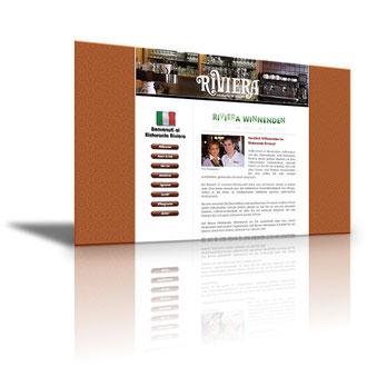 Auftraggeber: Restaurant. Unsere Leistungen: Webdesign, Layout, Texte, Bilder, Rechtsprüfung, Webbetreuung
