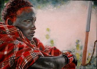 La rinuncia - olio su tela 50 x 70 - 2011