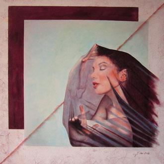 Verso l'armonia (olio su tela) 80x80 - 2016