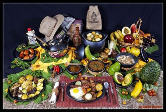 Alguna comida Típica colombiana
