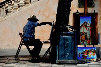 Sicily - 'Man at Work'