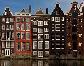 Holland - 'Crooked Houses of Damrak