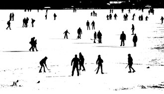 'White Ice' - Vienna, Alte Donau