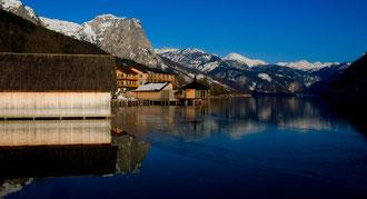 'Quiet Reflection' - Grundlsee, Salzburgerland