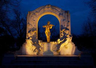 Johann Strauss Statue, Stadtpark
