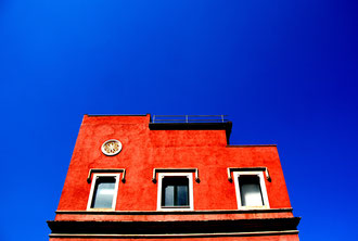Sicily - 'Red on Blue'