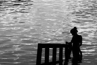 'Contemplation' B&W - Vienna