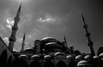 Istanbul - 'The Storm' (B&W)