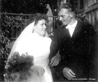 04. Juli 1958 - Neu Plestlin - ALTROGGE, Gustav oo ALBRECHT, Christel