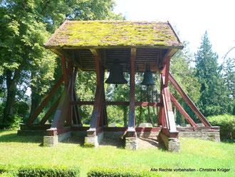 Kirche Hohenmocker - Glockenstuhl   -   church in Hohenmocker - belfry