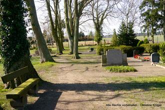 Friedhof Klotzow - cemetery Klotzow
