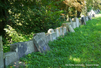 deutsche Grabsteine Friedhof Martenthin / Mierzecin  -  German gravestones cemetery Martenthin / Mierzecin