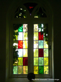 Kirchenfenster in Willerswalde  -  stained-glass window in Willerswalde