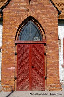 Detail Kirche Martenthin / Mierzecin