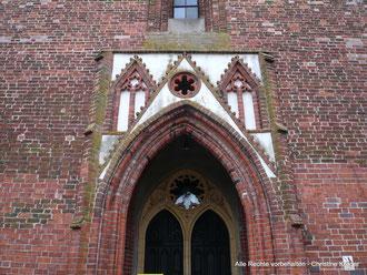 Kirche St. Petri - Detail Portal