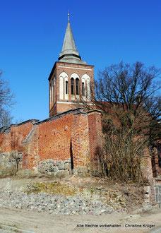 St. Johannis Kirche LASSAN (März 2015)