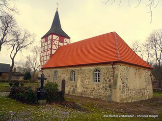 Dorfkirche ALT PLESTLIN - 2015 - village church in Alt Plestlin