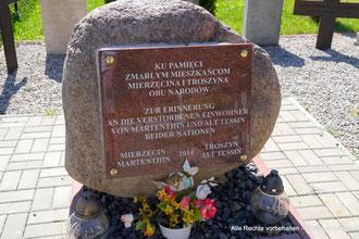 Lapidarium Friedhof Martenthin / Mierzecin  -  Lapidarium cemetery Martenthin / Mierzecin