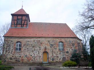 Kirche Pripsleben - church in Pripsleben   (Januar 2015)