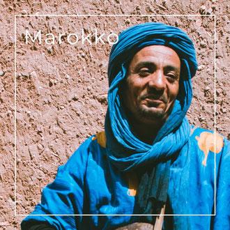 Marokko - Körbe, Holzwaren, Plaids von kleinen Kooperativen