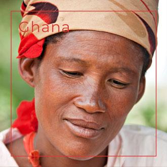 Ghana - Flechtwaren aus Korb