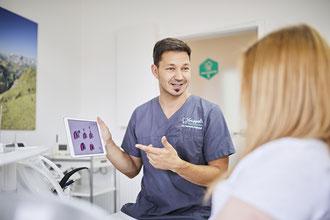 Netter Zahnarzt St. Leon-Rot, Dr. Hannes Kappel Spezialist für Zahnimplantate und Zahnfleischentzündung