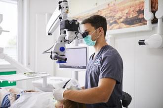 Wurzelbehandlung mit Mikroskop, Spezialisten für Wurzelbehandlungen in St. Leon-Rot, Malsch, Reilingen, Waghäusel und Rauenberg