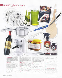 SAVEURS MAGAZINE - MAGNETIK TASTING BOARD - FEBRUARY 2012