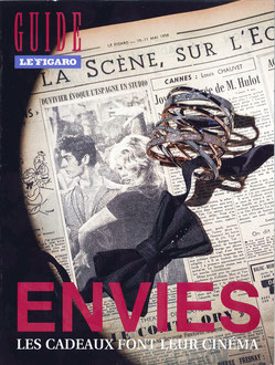 LE FIGARO MAGAZINE - CHRISTMAS GUIDE NOVEMBER 2012 < PLAY AND DANCE,  BOX EARRINGS