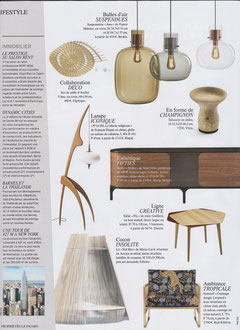 LE FIGARO < TABLE FLO COLLECTION < DECEMBER 2019