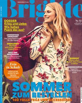 BRIGITTE MAGAZINE - HEART MIROR < GERMANY < MAY 2015