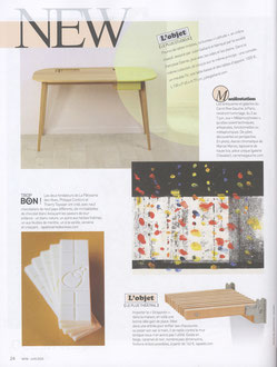 MAISON FRANCAISE - DESK LATITUDE COLLECTION < MAY 2015