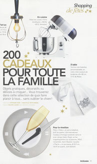 ART ET DECORATION MAGAZINE - NOVEMBER 2012 - DINNERWARE PLAY'TE < LIMOGES