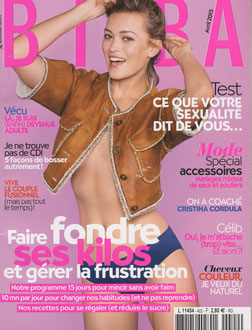 BIBA MAGAZINE - COAT PEGS LISERE COLLECTION < MARCH 2015