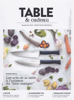 TABLE ET CADEAU MAGAZINE / 2019 JANUARY