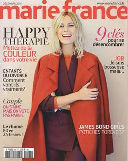 MARIE FRANCE MAGAZINE < WALL DESK LATITUDE > DECEMBER 2015