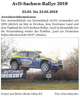 Amtsblatt Gemeinde Weischlitz 05.04.2019