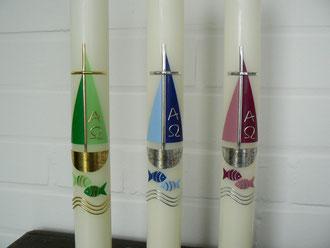 T14 grün/gold, blau/silber, brombeer/silber
