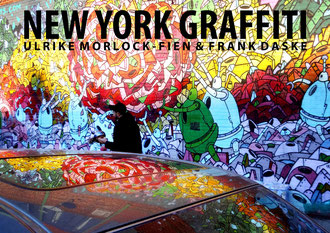 New York Graffiti - Posterbuch in A4/A3/A2 - Titelblatt