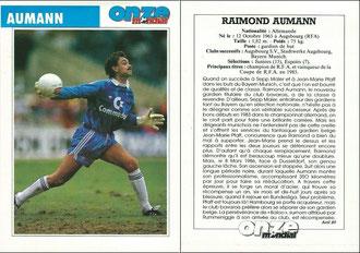 Aumann, 1989, Onze, Dank an SF Michael