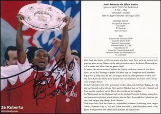 Ze Roberto, 2003, Privatkarte