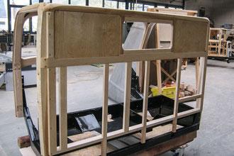 H6 Oldtimer Stellmacher Holz Karosserie Piela